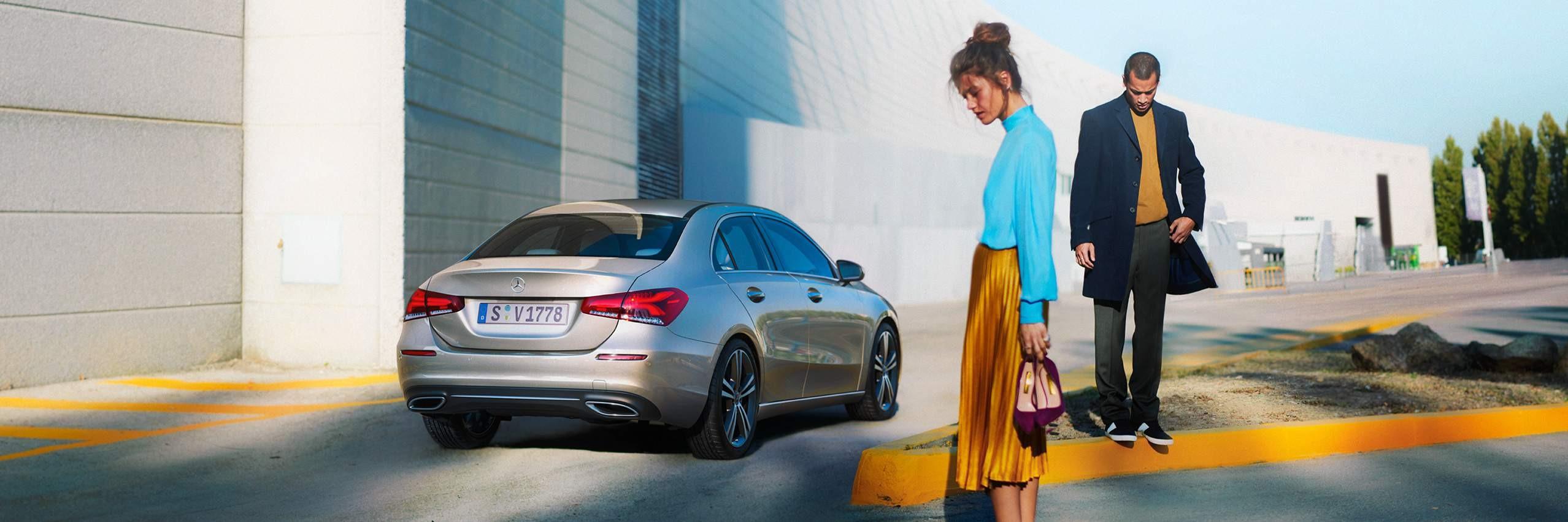 ДизайнMercedes-Benz A-Class