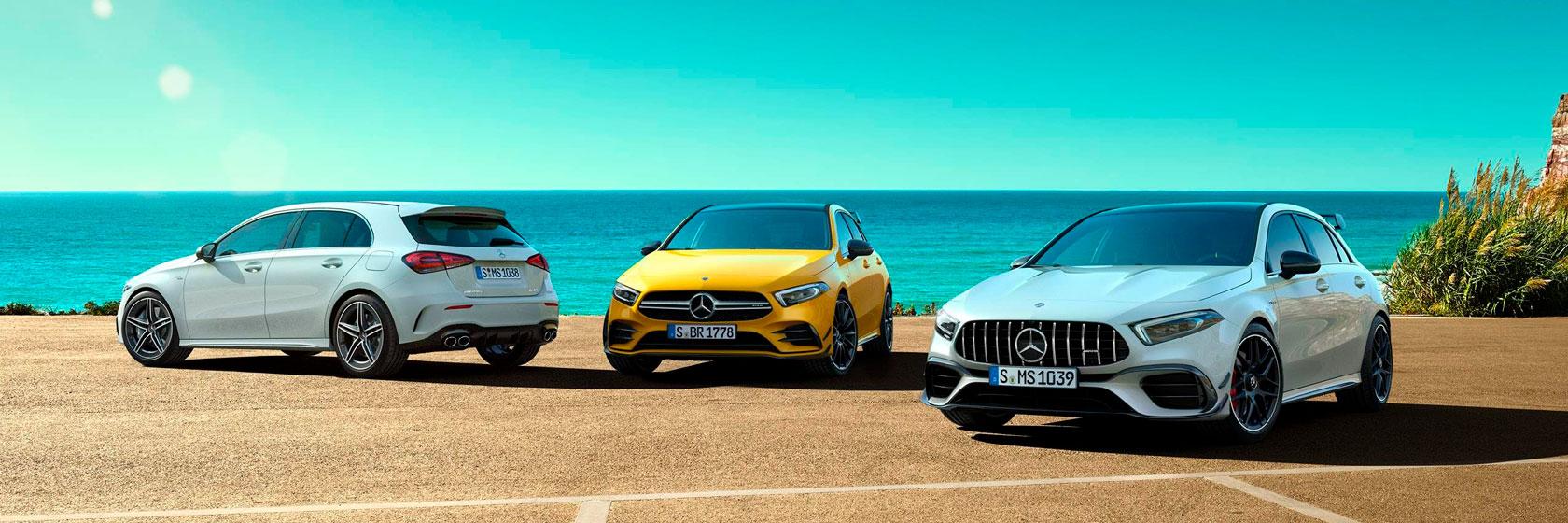 Технологии Mercedes-AMG A-класс