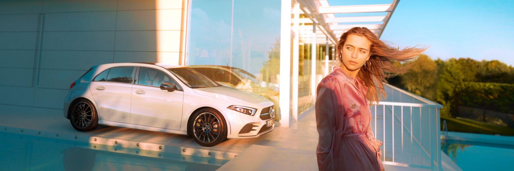 Інтер'єр та екстер'єр Mercedes–Benz A-Class