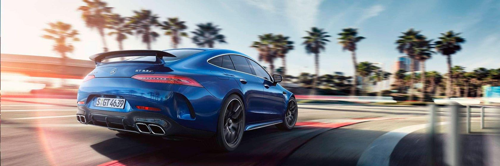 Технологии Mercedes-AMG GT 4-door Coupe