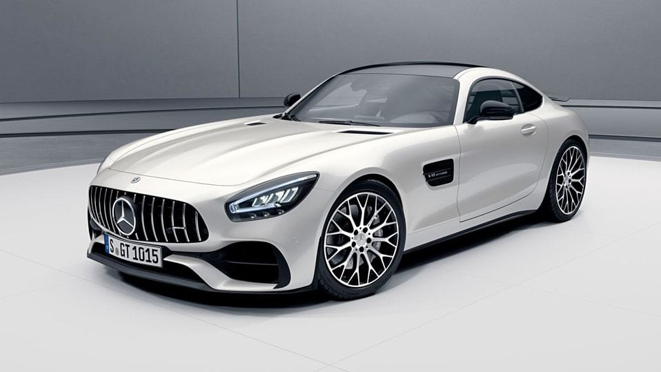 Новий автомобіль mercedes amg-gt-coupe Пакет екстер'єру AMG Night