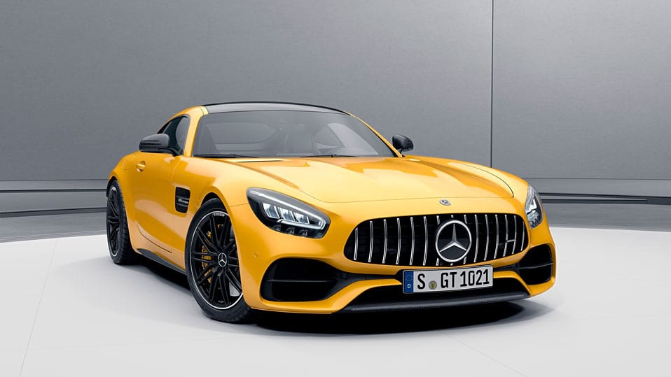 Mercedes-AMG-gt-coupe  Пакет екстер'єру AMG Carbon