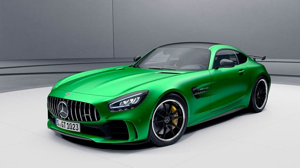 Mercedes-AMG-gt-coupe  Пакет AMG Carbon I і II