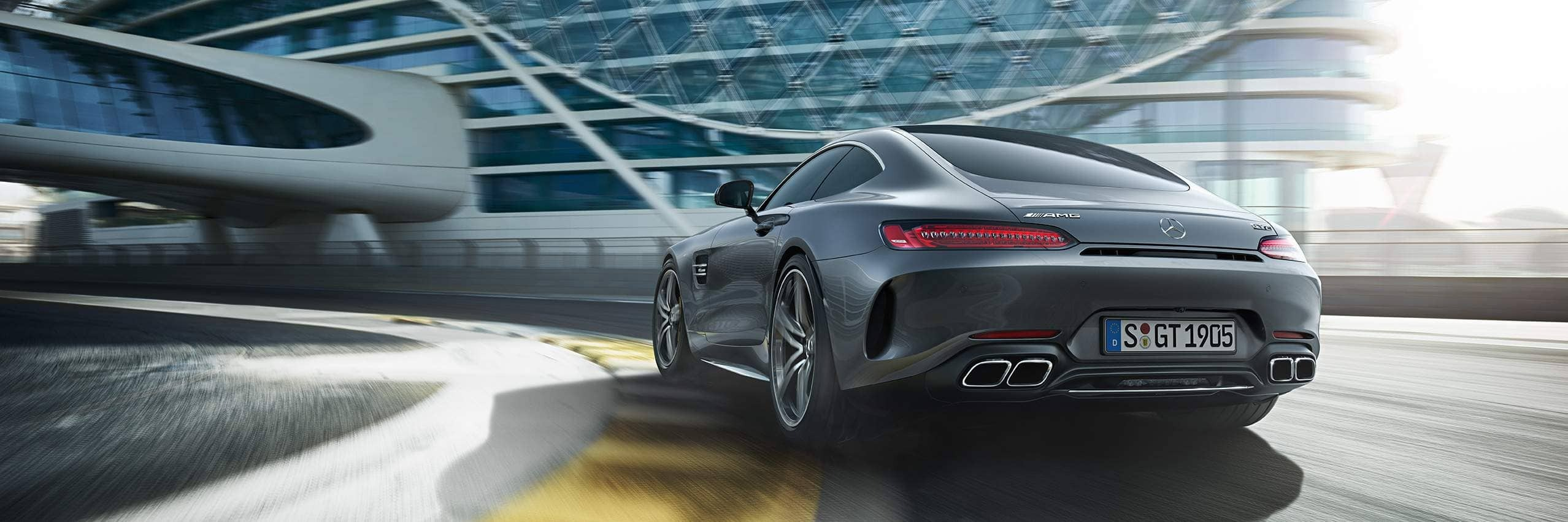 МощностьMercedes AMG GT Coupe