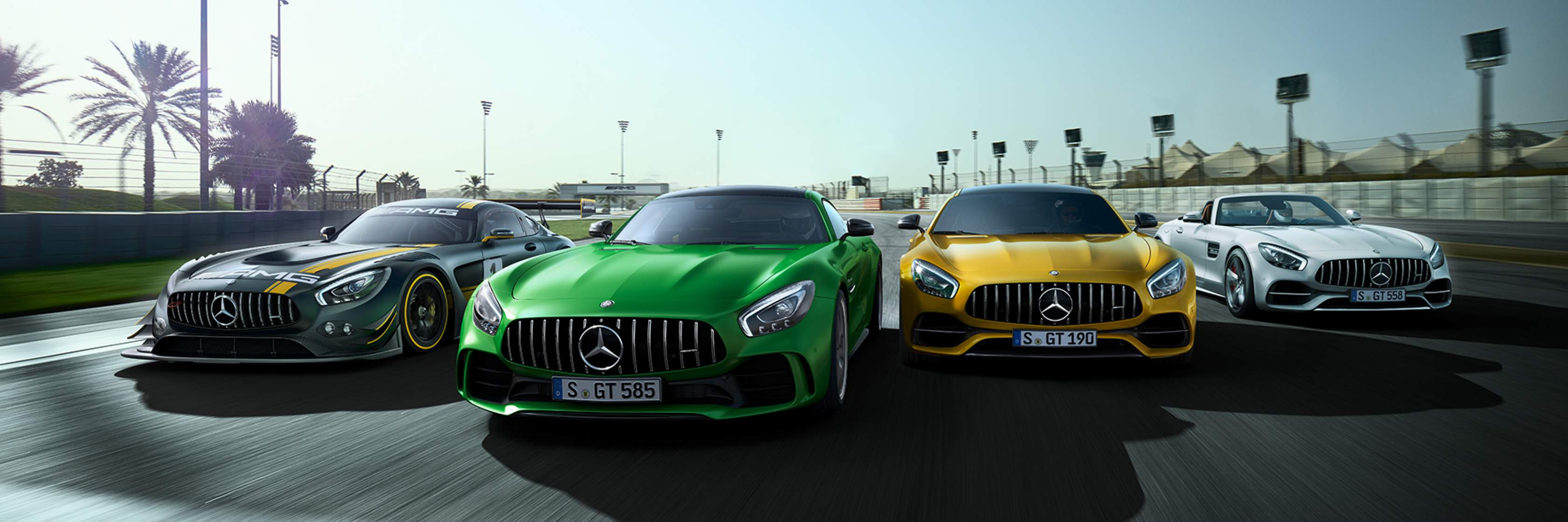 Mercedes-AMG GT Mercedes-AMG GT R Mercedes-AMG GT C Edition 50 Mercedes-AMG GT S купе