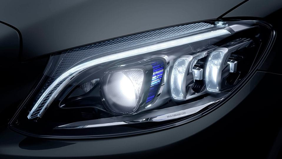 Новий автомобіль Mercedes-Benz C-Class Coupe MULTIBEAM LED