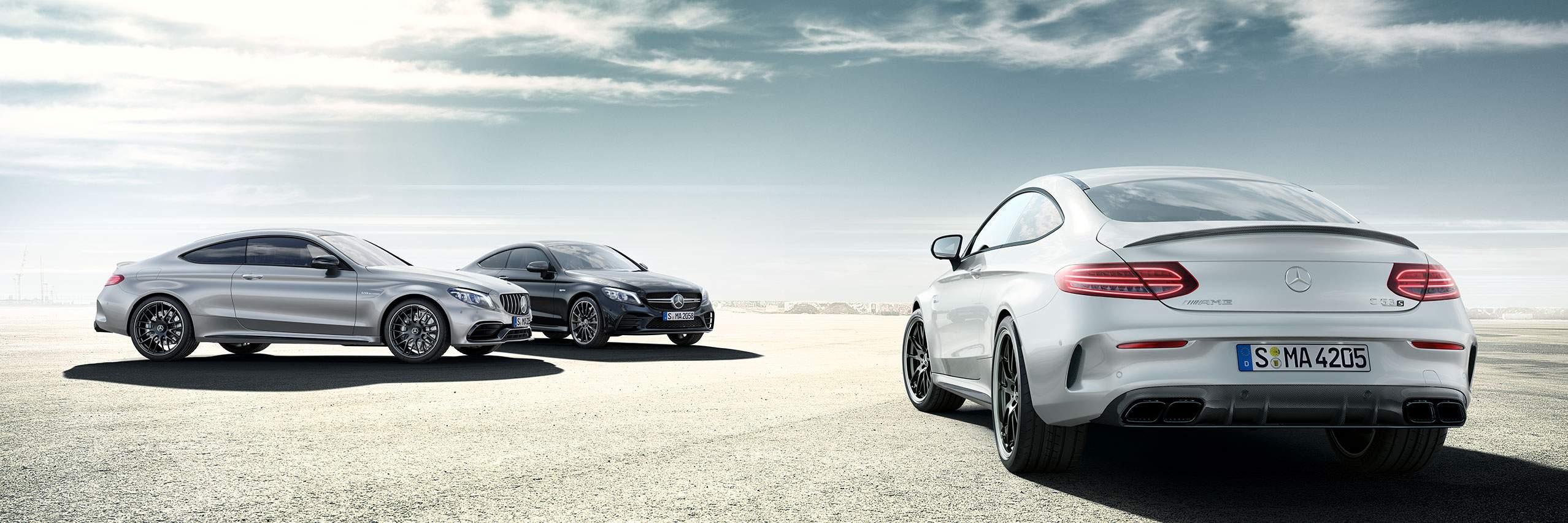 Технологиіі Mercedes-AMG С-клас купе