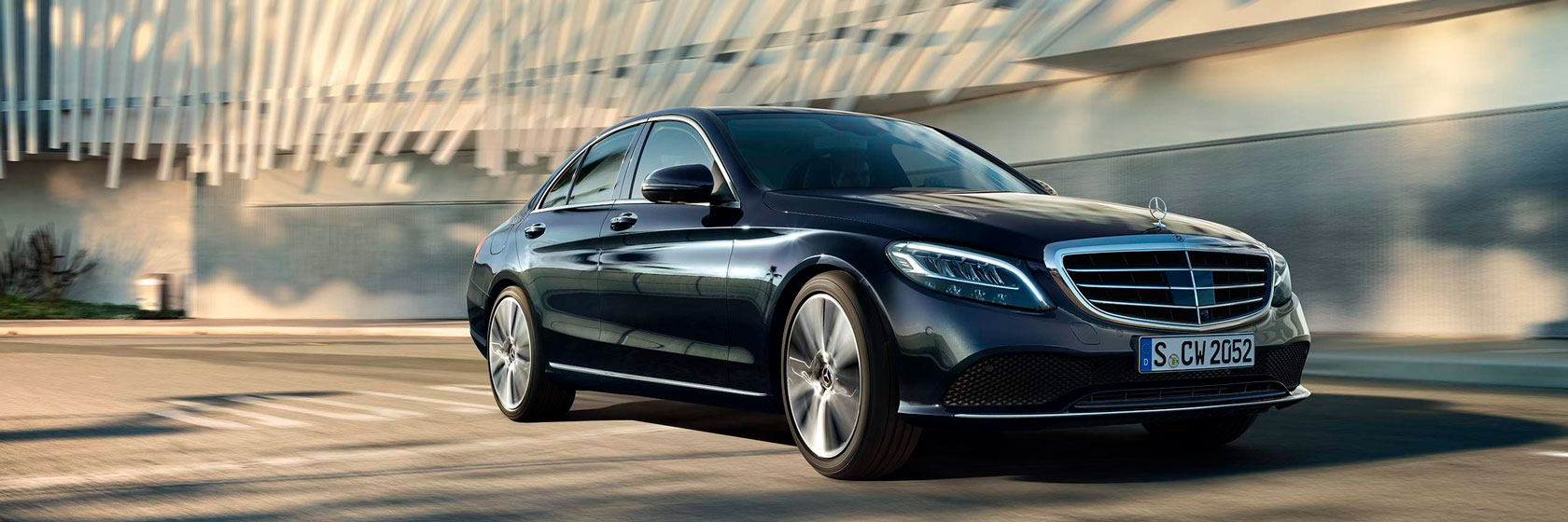 Безпека нового Mercedes-Benz C-Class Sedan