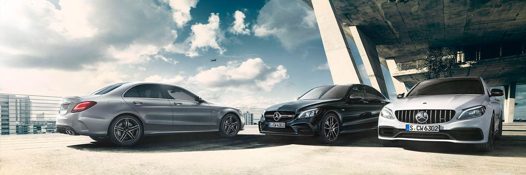 Технологиіі Mercedes-AMG C-Class.