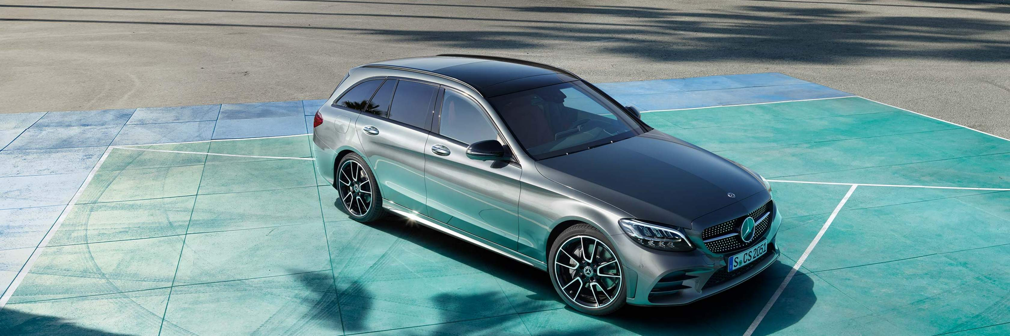 Інтер'єр та екстер'єр Mercedes–Benz C–Class Універсал