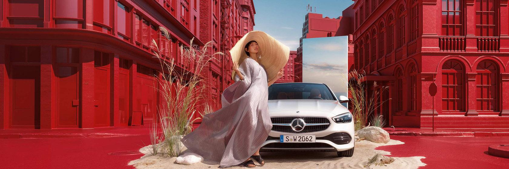 ДизайнMercedes-Benz C-Class w206 2021