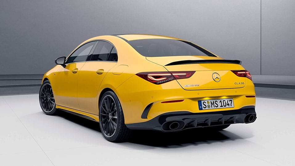 Новый автомобиль Mercedes-AMG CLA Coupe 2021 Пакет аэродинамики AMG
