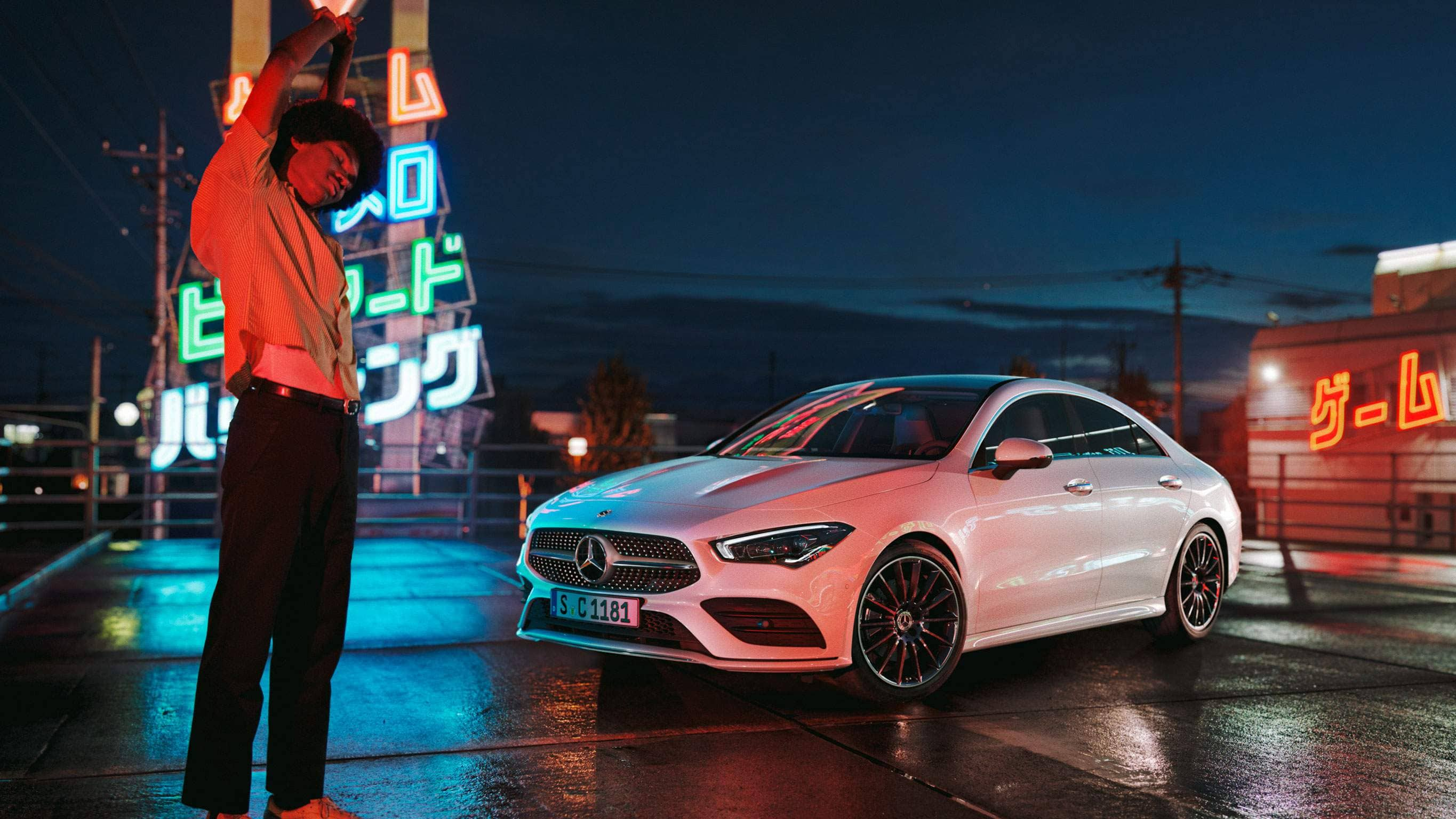 Автомобиль Mercedes-Benz CLA Coupe диски
