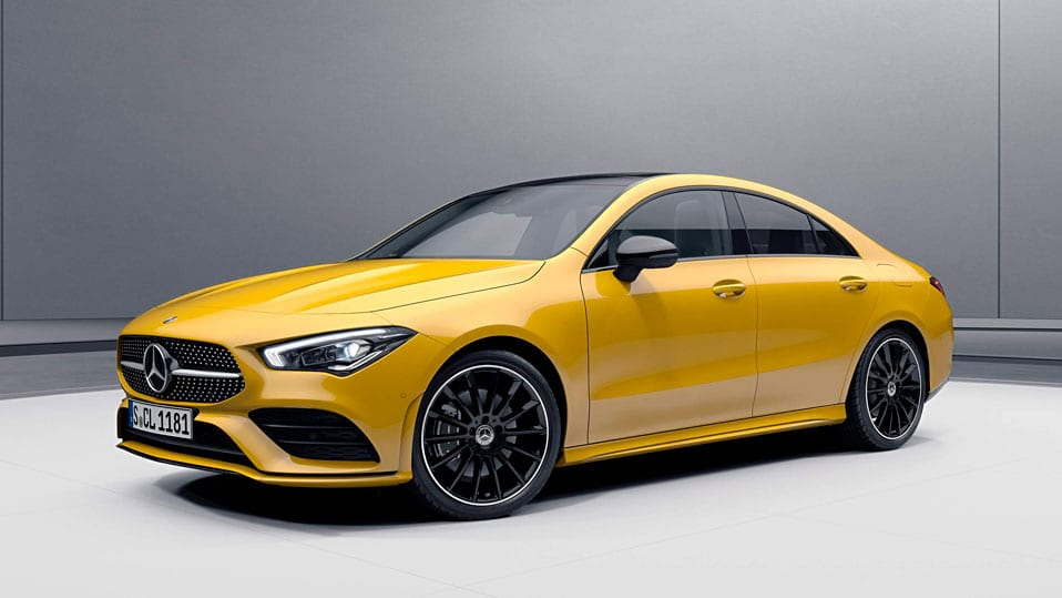 Новый автомобиль Mercedes-AMG CLA Coupe 2021 Пакет AMG Night