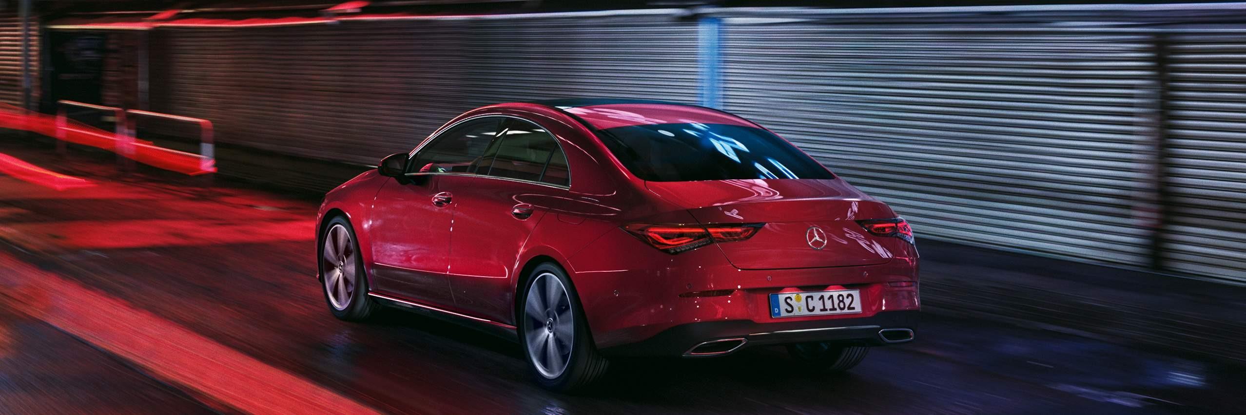 Безпека нового Mercedes–Benz CLA Coupe 2020