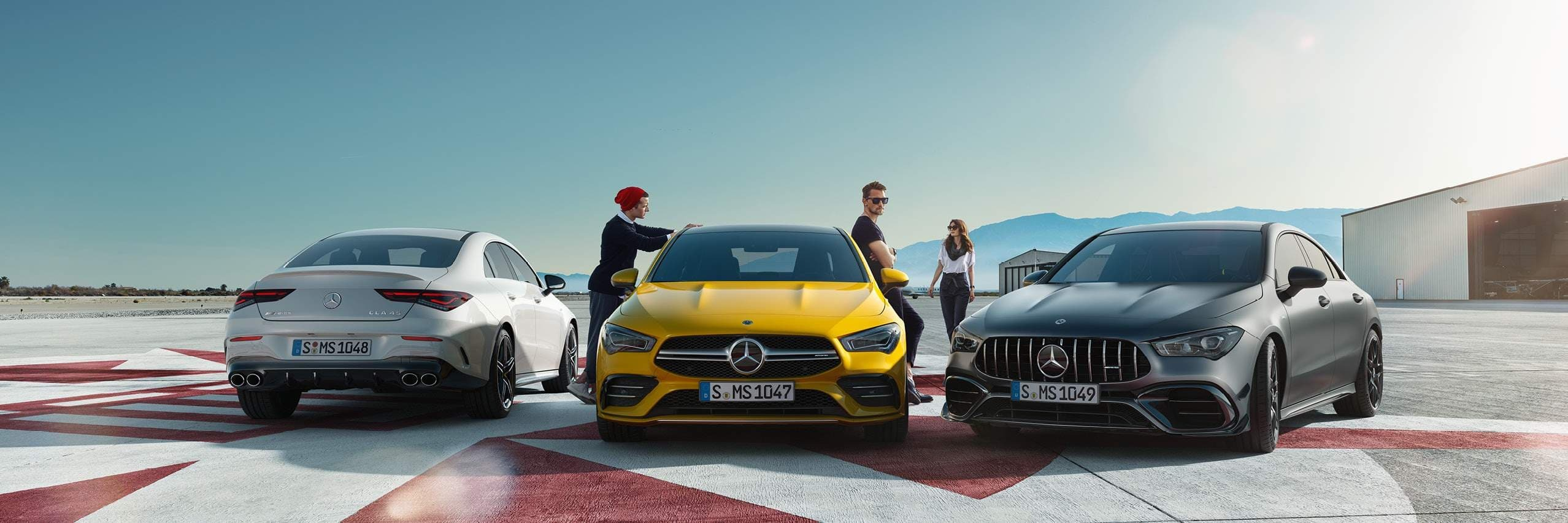 Технологии Mercedes-AMG CLA Coupe 2021