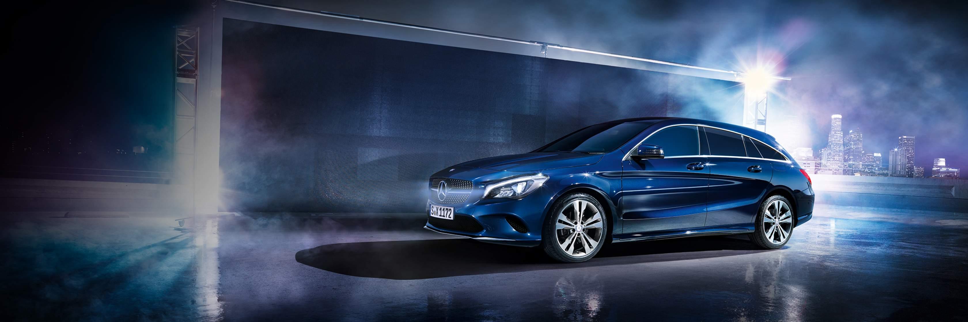Интерьер и экстерьер Mercedes–Benz CLA Shooting Brake