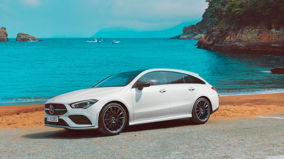 Новый автомобиль Mercedes-Benz CLA Shooting Brake Дизайн Shooting Brake