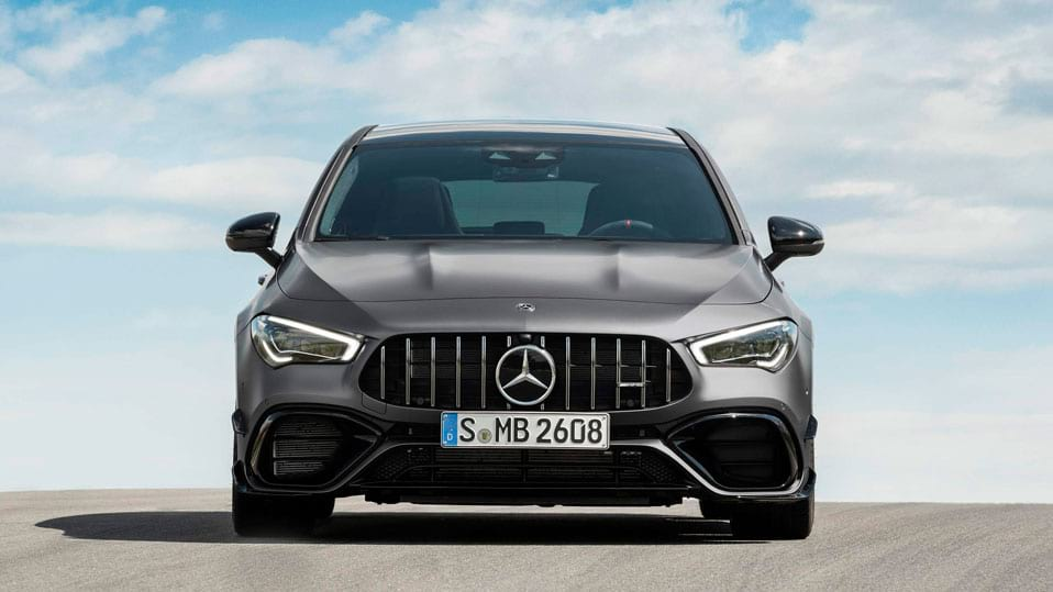 Новый автомобиль Mercedes-AMG CLA Shooting Brake передний бампер