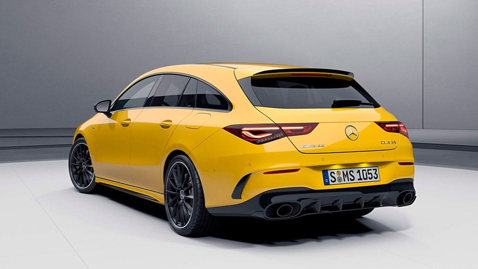 Новый автомобиль Mercedes-AMG CLA Shooting Brake Пакет аэродинамики AMG