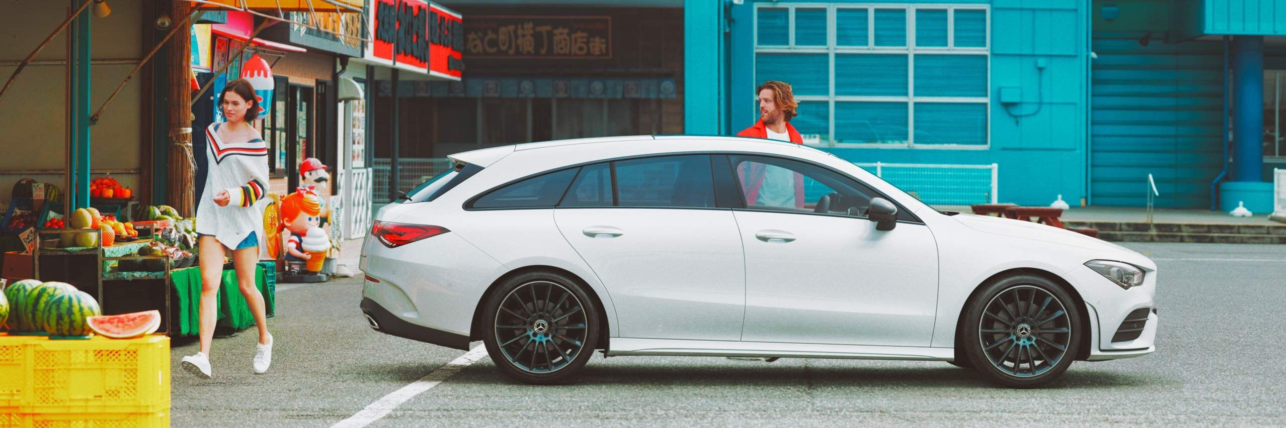 Дизайн Mercedes–Benz CLA Shooting Brake