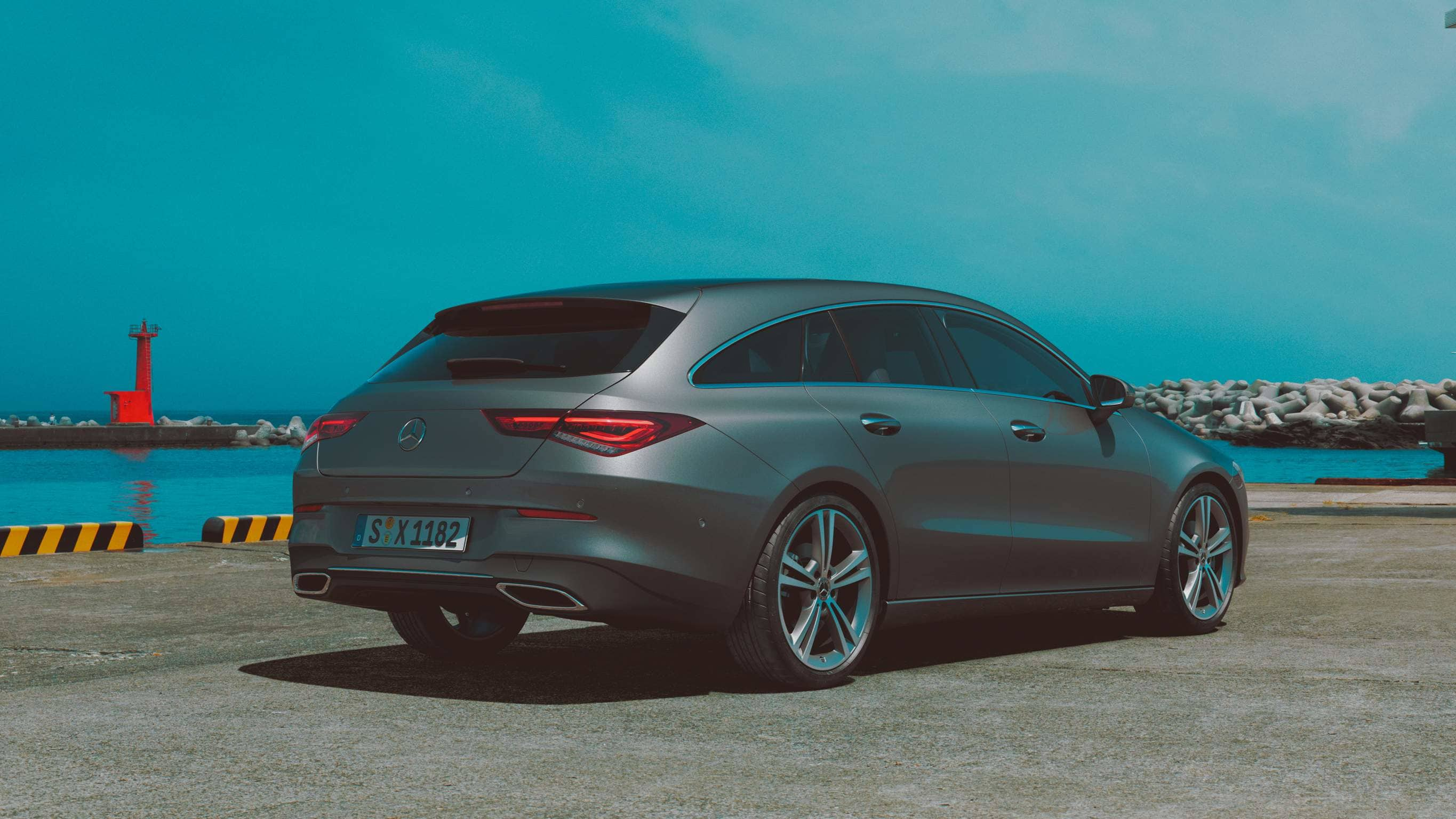 Новий автомобіль Mercedes-Benz CLA Shooting Brake