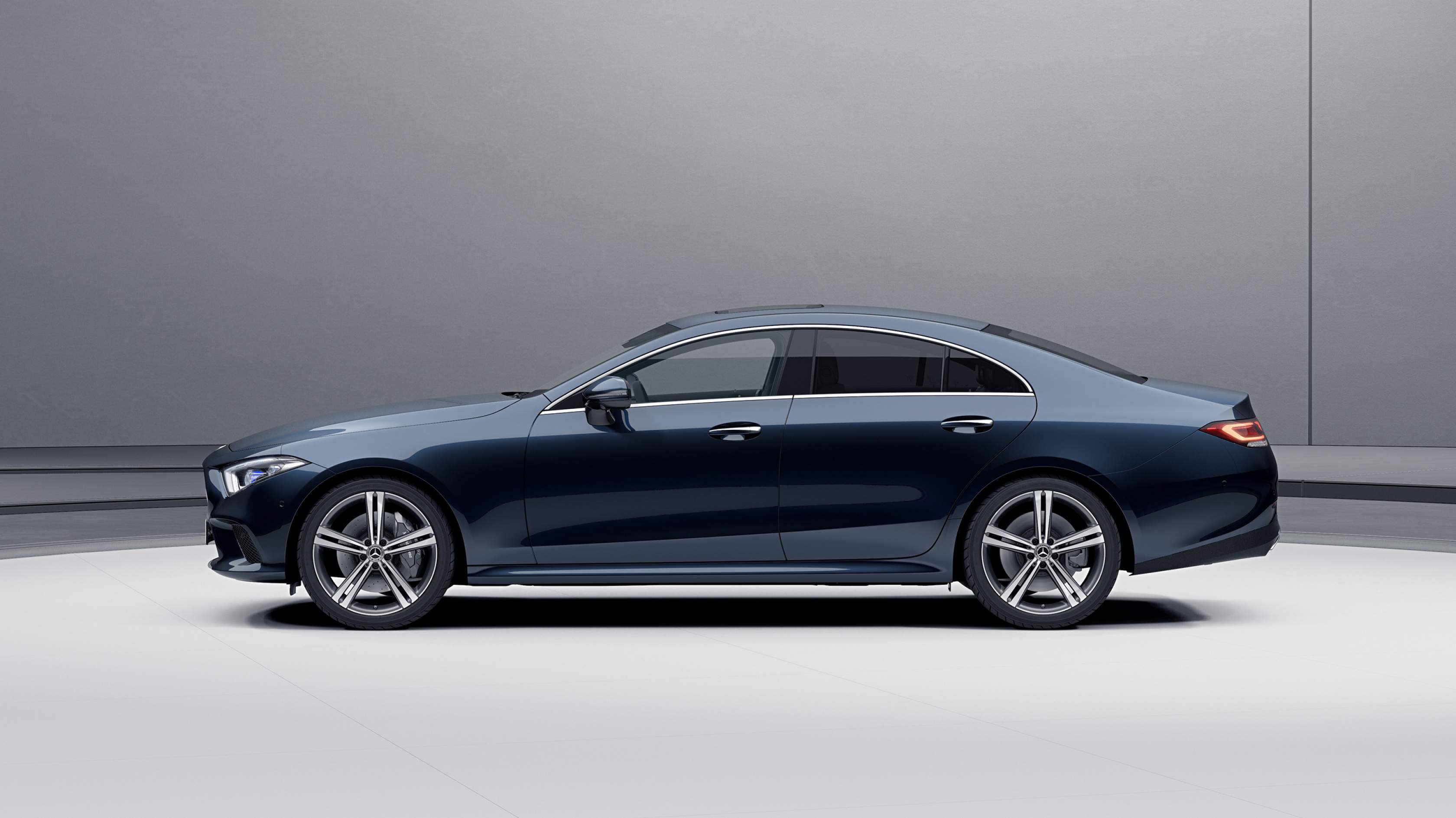 Повний привід Mercedes-Benz CLS Coupe