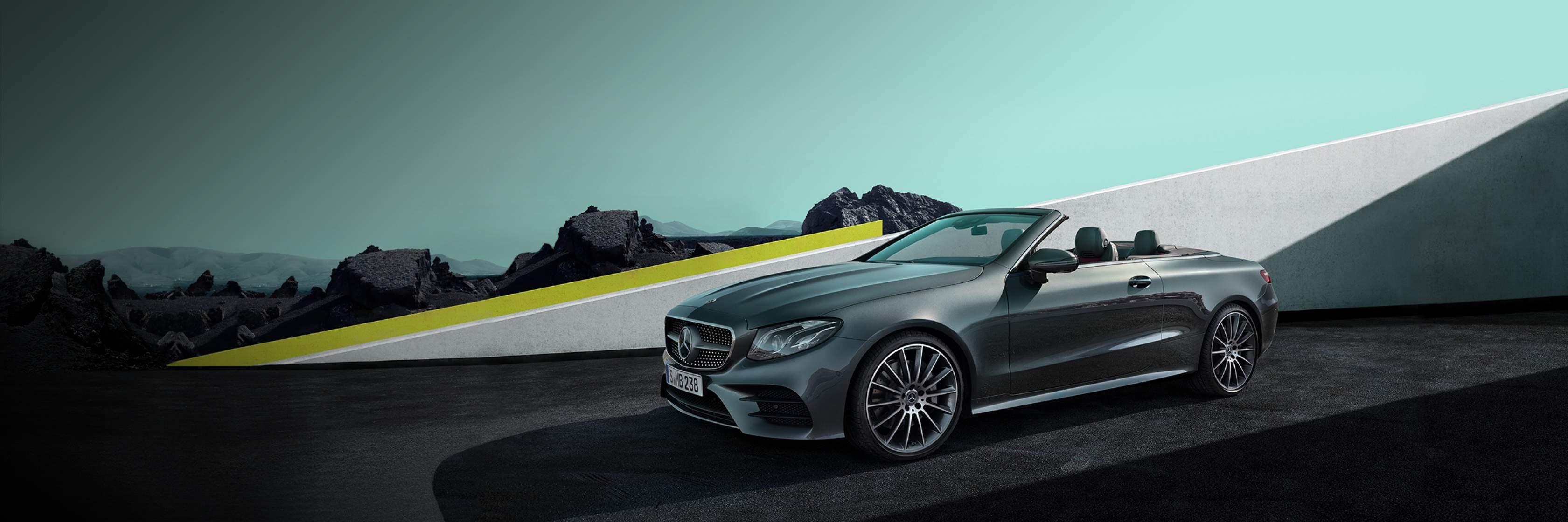 Интерьер и экстерьер Mercedes–Benz E–Class Cabriolet