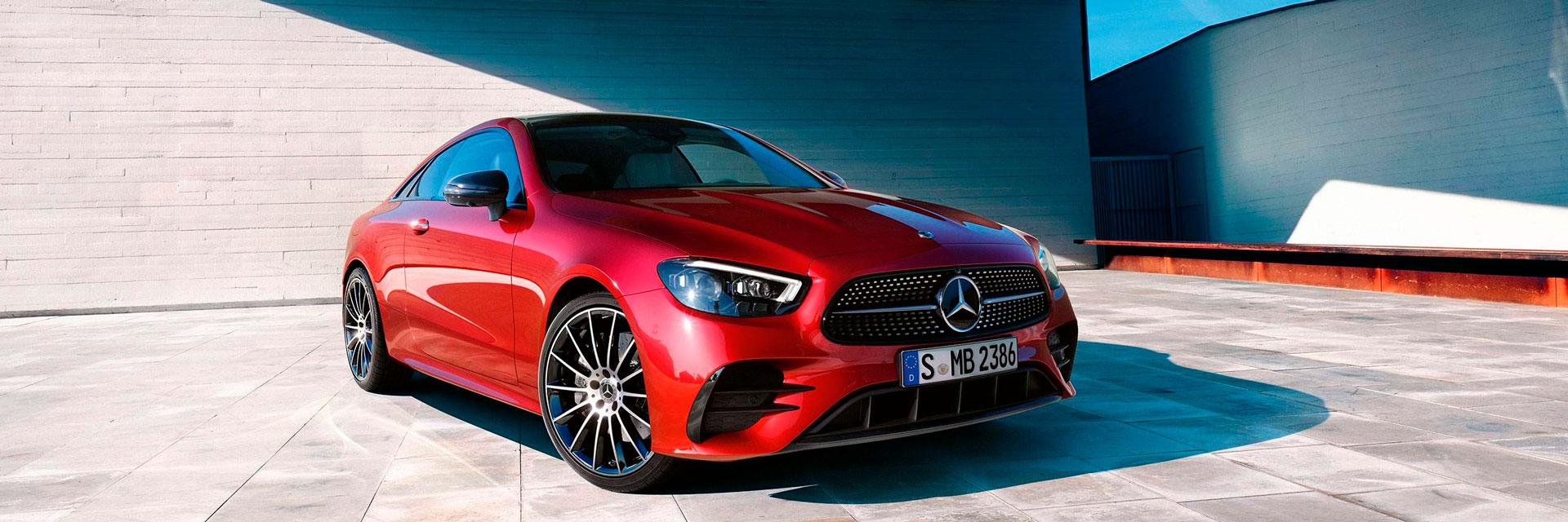 Дизайн Mercedes-Benz E-Class Coupe