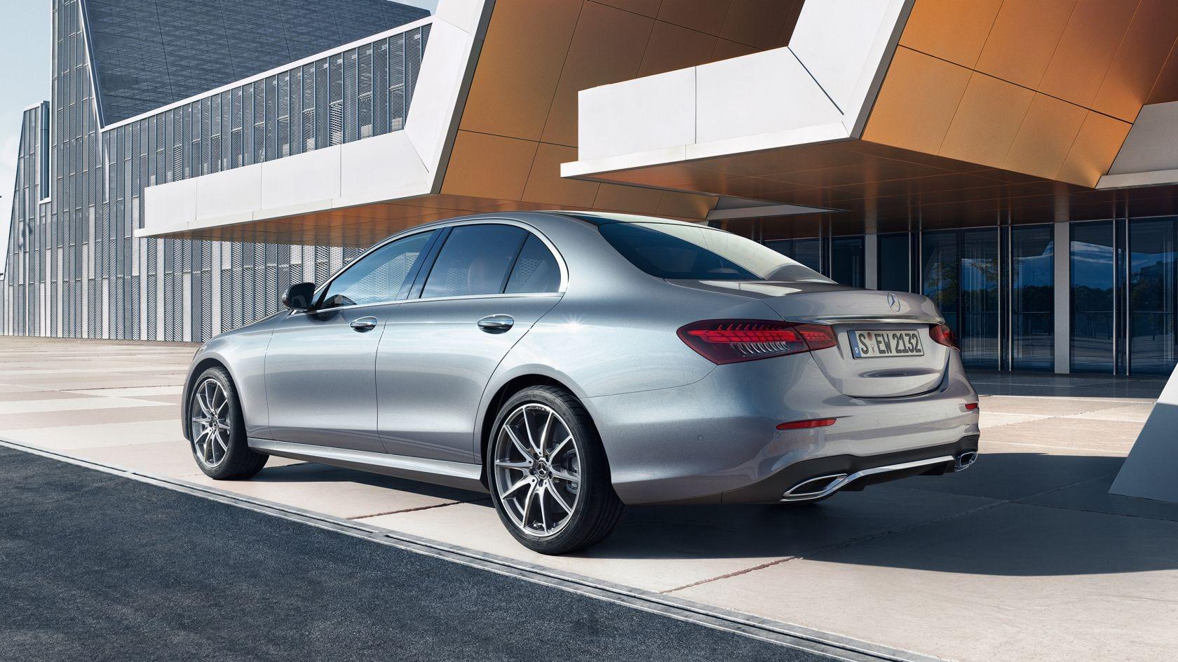 Дизайн нового Mercedes-Benz E-Class2021