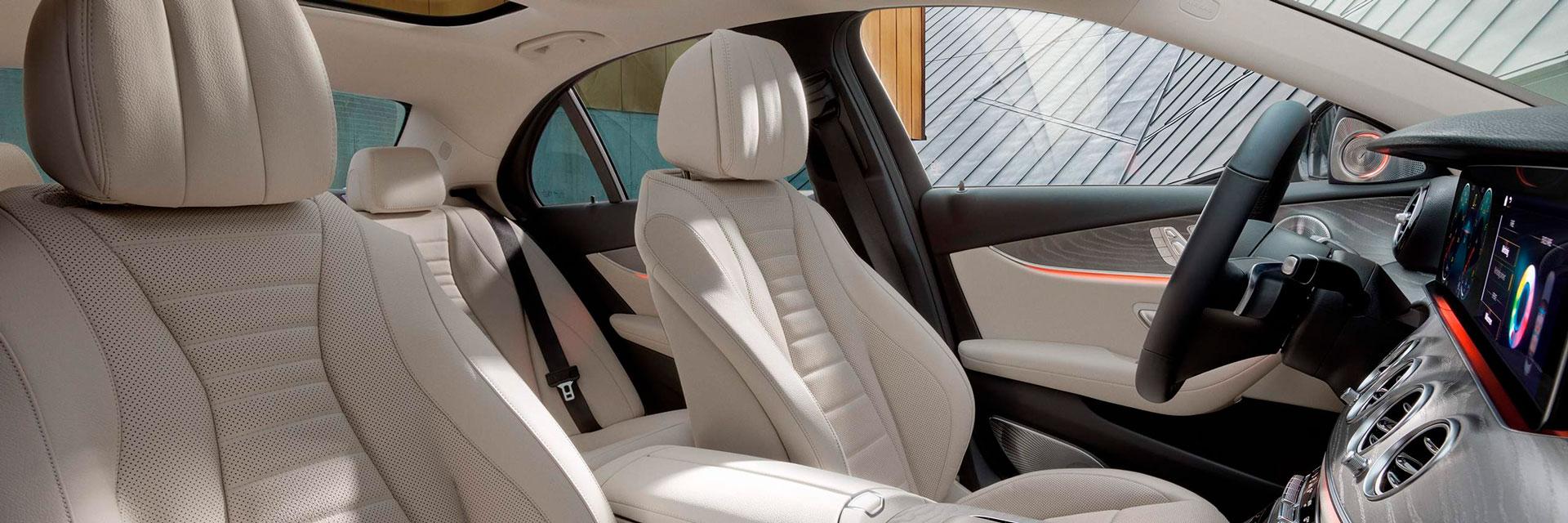 Комфорт нового Mercedes-Benz E-Class седан2021