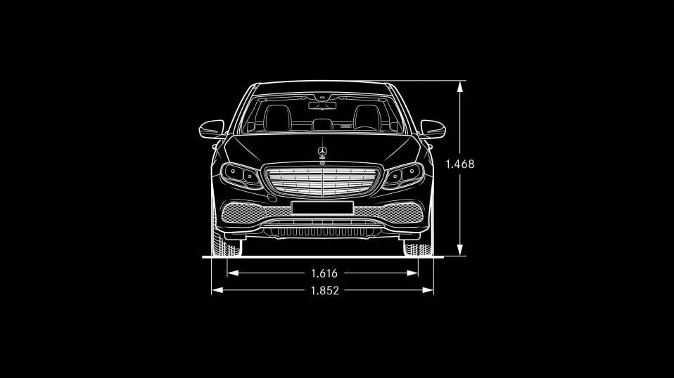 Новий автомобіль Mercedes-Benz Mercedes-Benz E-Class Sedan вид спереду