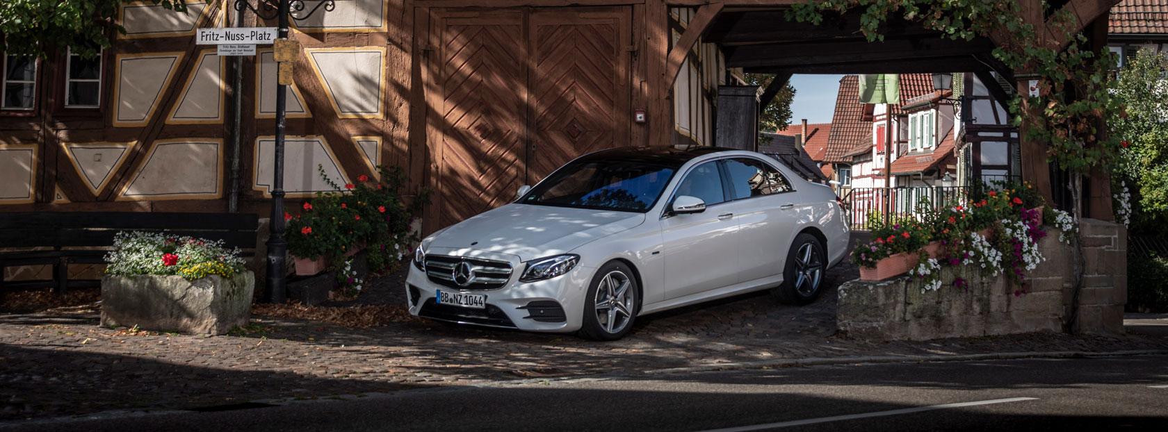 Унікальні умови на покупку Mercedes-Benz E-Class