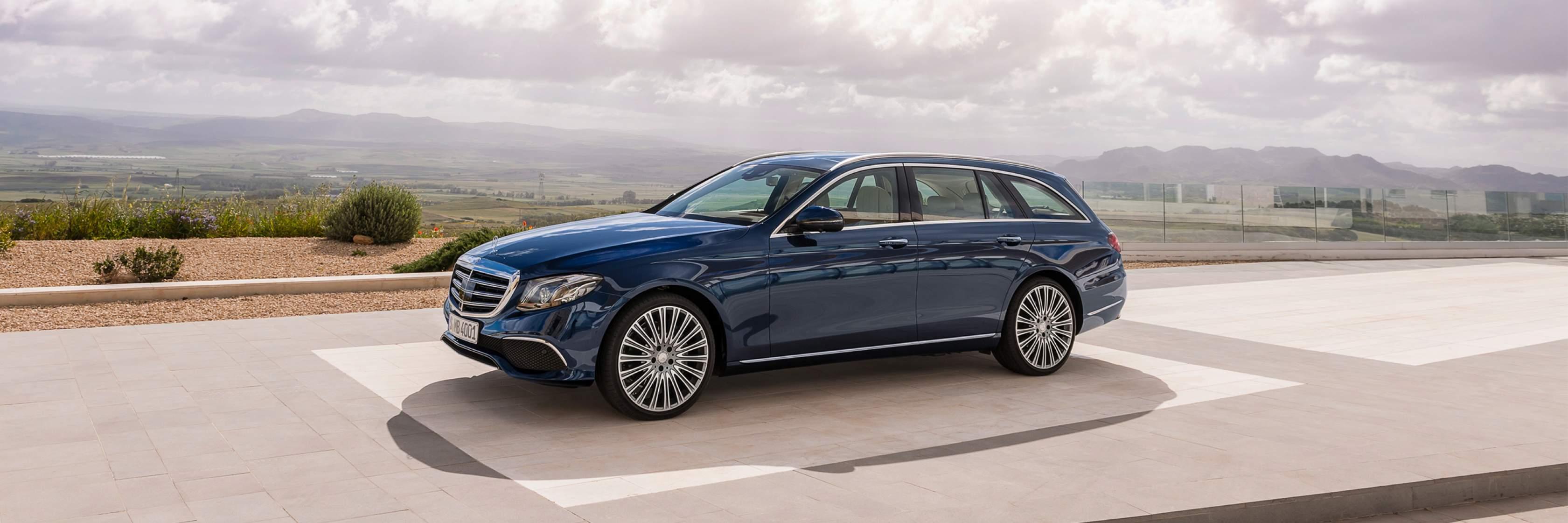 Інтер'єр та екстер'єр Mercedes–Benz E–Class Універсал