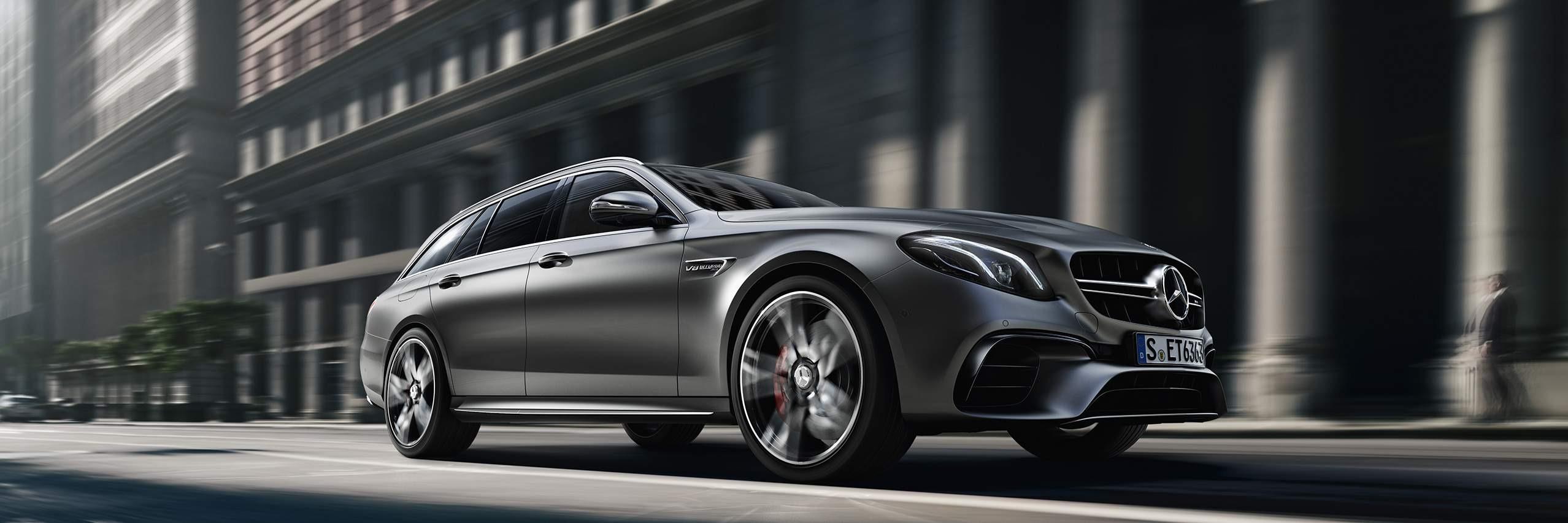 Технологии Mercedes-AMGE-class универсал