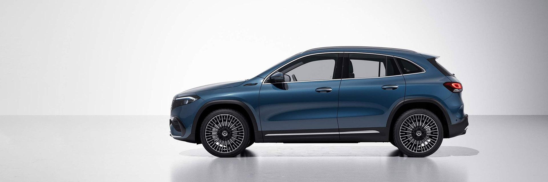 Технічні дані Mercedes-Benz EQA 2021