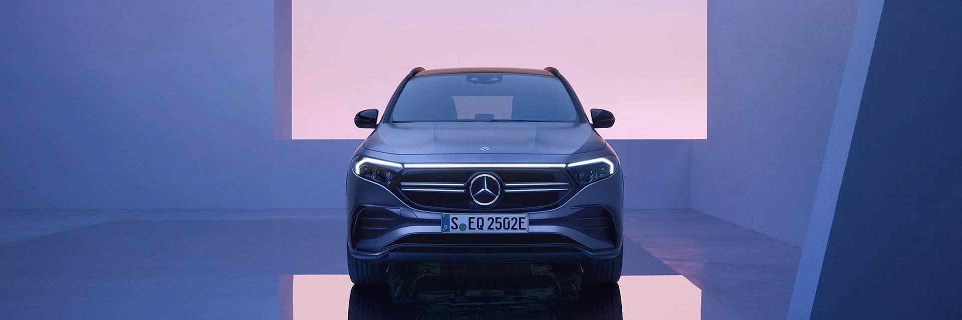 Mercedes-Benz EQA 2021Дизайн
