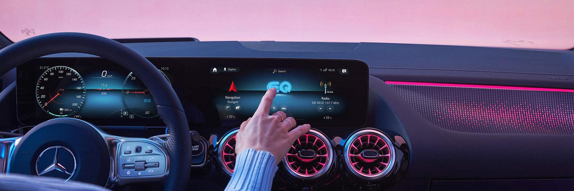 Mercedes-Benz EQA 2021Комфорт і безпека