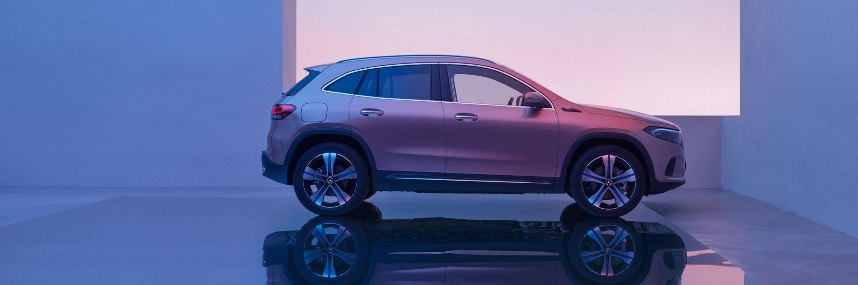 Ціна Mercedes-Benz EQA 2021
