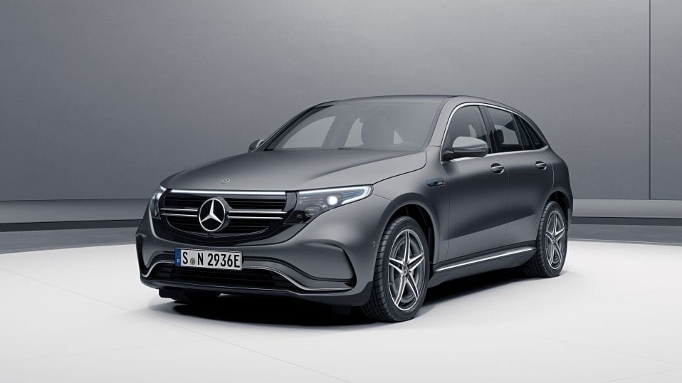 Новий Mercedes-Benz EQC Екстер'єр