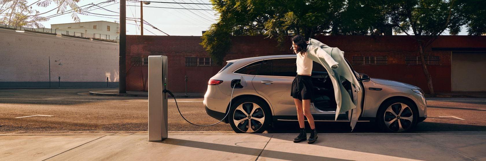 Зарядка и запас хода Mercedes-Benz EQC
