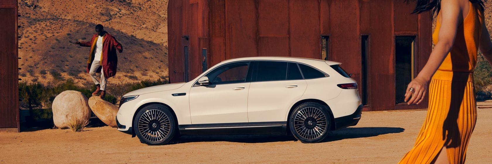 Дизайн Mercedes-Benz EQC