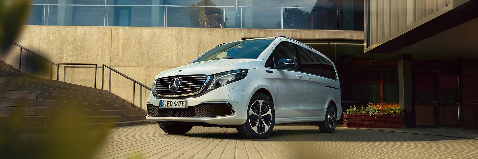 Дизайн Mercedes–Benz V-Class2021