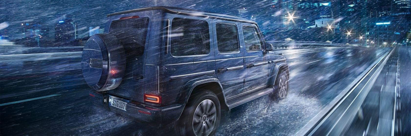 Безопасность Mercedes–Benz G-Class