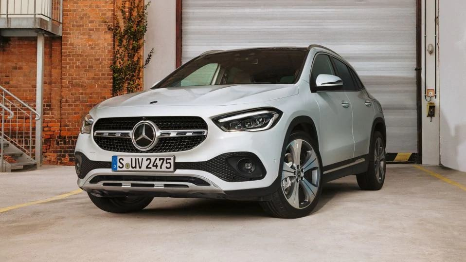 Новый Mercedes-Benz GLA 2021