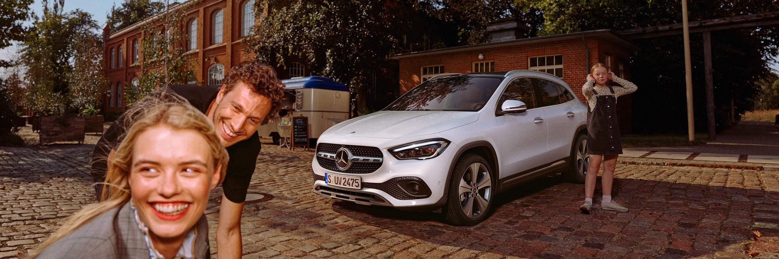 Дизайн Mercedes-Benz GLA 2020