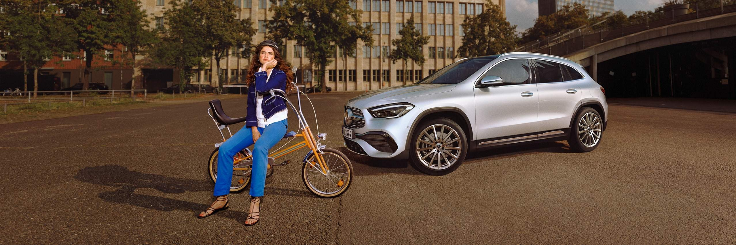 Технологии Mercedes-Benz GLA