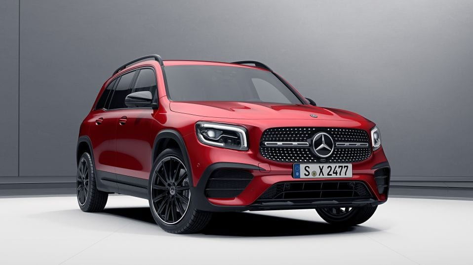 Новий Mercedes-Benz GLB Пакет Night