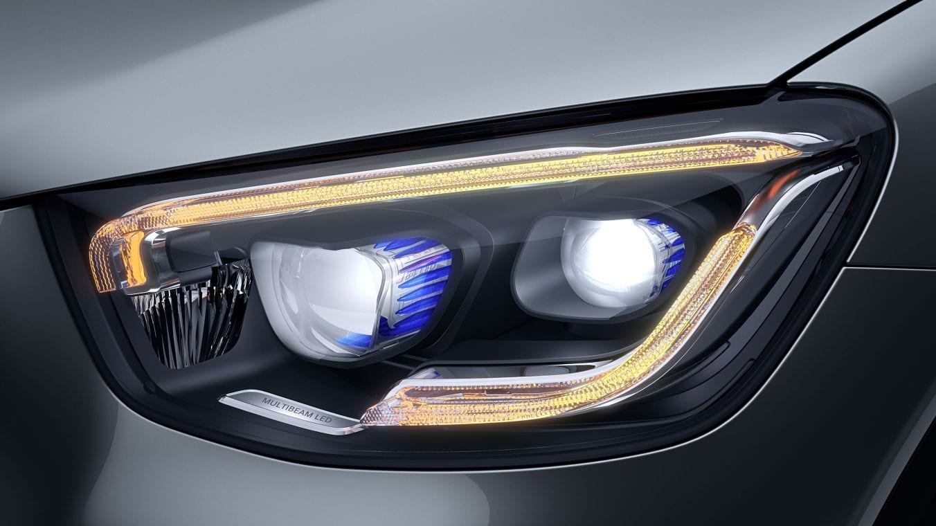 Новый автомобиль Mercedes Benz GLC–Class MULTIBEAM LED