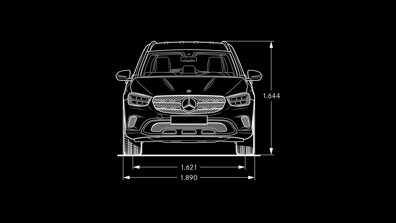 Mercedes-Benz GLC интерьер